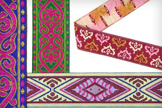 Ribetes de diseño oriental