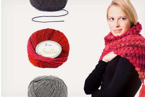 Large gamme de laines
