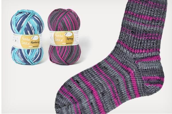 Lã para meias