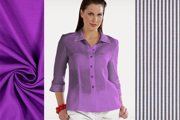 Tecidos para blusas a preços reduzidos