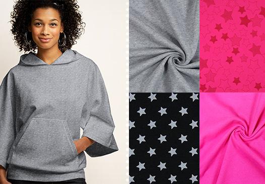 Tissus de sweatshirt