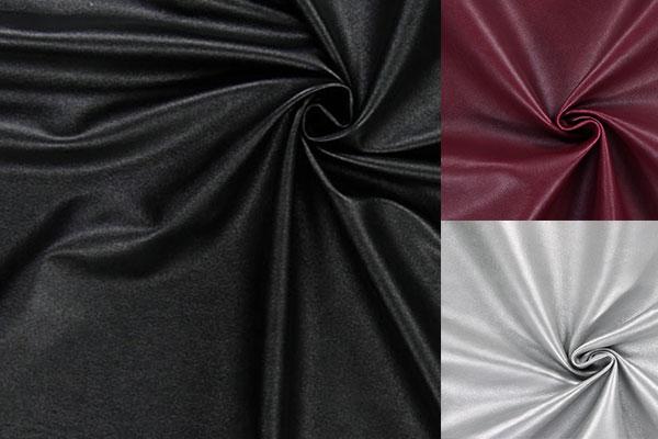 Imitation cuir pour l'habillement