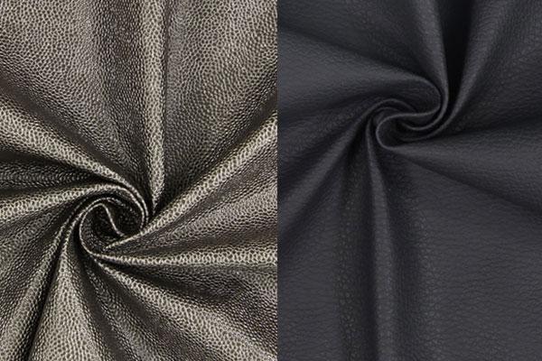 Tissus d'ameublement dans un aspect cuir
