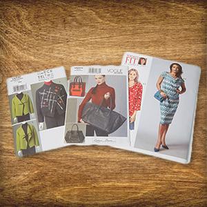 Heute im Adventskalender: 3 x 1 Schnittmusterpaket mit Vogue Schnittmustern