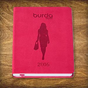 Heute im Adventskalender: 5 x 1 burda style Jahreskalender 2016