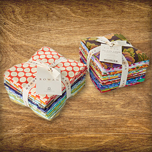 Heute im Adventskalender: 1 x 1 Fat Quarter-Set Amy Butler und Kaffe Fassett