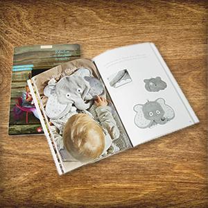 Aujourd'hui dans le Calendrier de l'Avent : 2 x 1 exemplaire de « Peluches et doudous à coudre