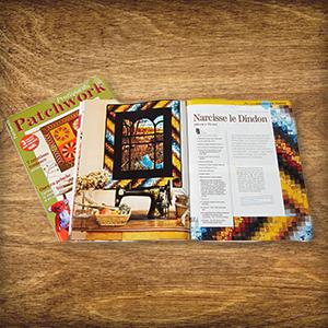 3 x 1 exemplaire de « Pratique du Patchwork »