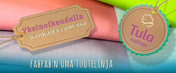 Nyt etsimään: Tula Cotton kankaita.com