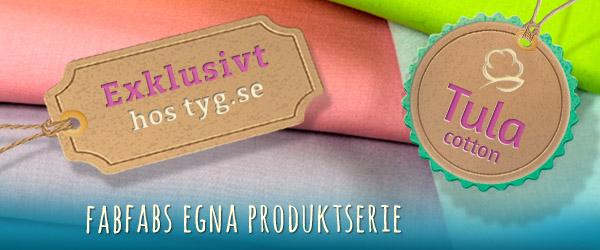 Upptäck nu: Tula Cotton fran tyg.se