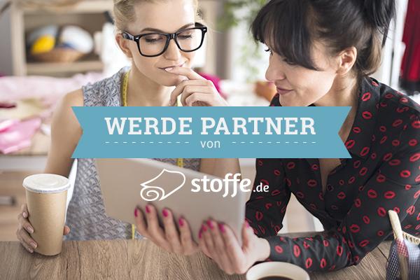Das Partnerprogramm von stoffe.de - jetzt teilnehmen!
