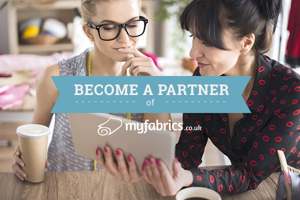 The affiliate program of myfabrics.co.uk - become a partner right now!