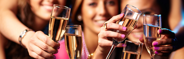 Nyní se bude slavit! stoffe.de Vám přejí vše nejlepší do nového roku
