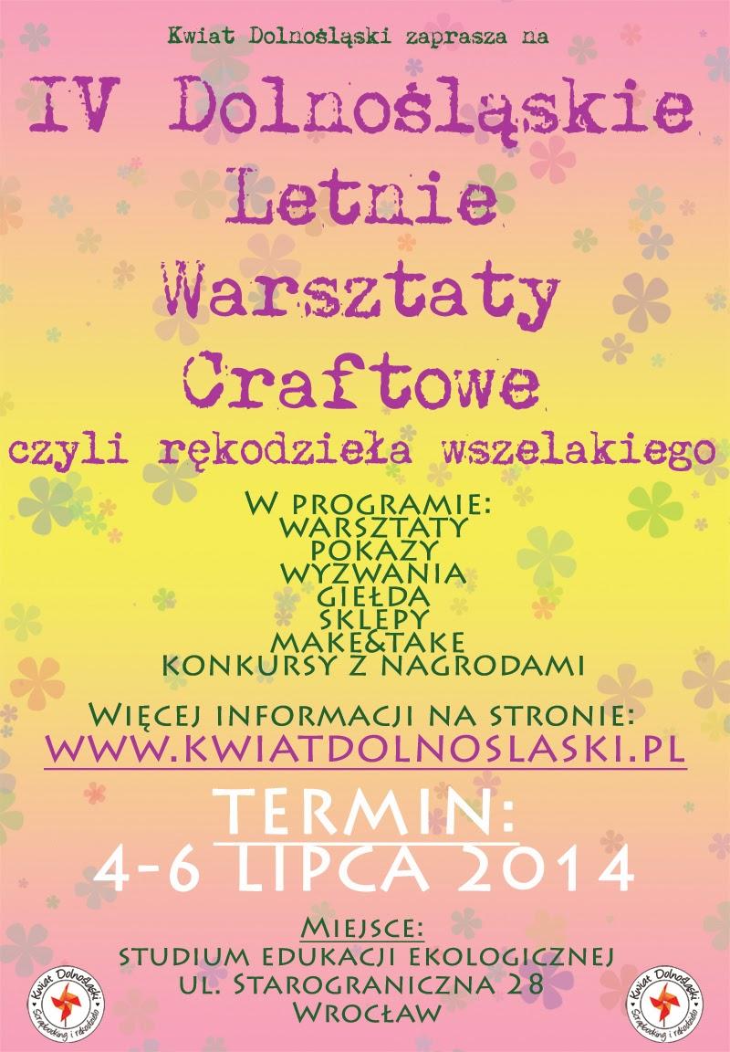 Letnie Warsztaty Craftowe 4-6 lipca 2014