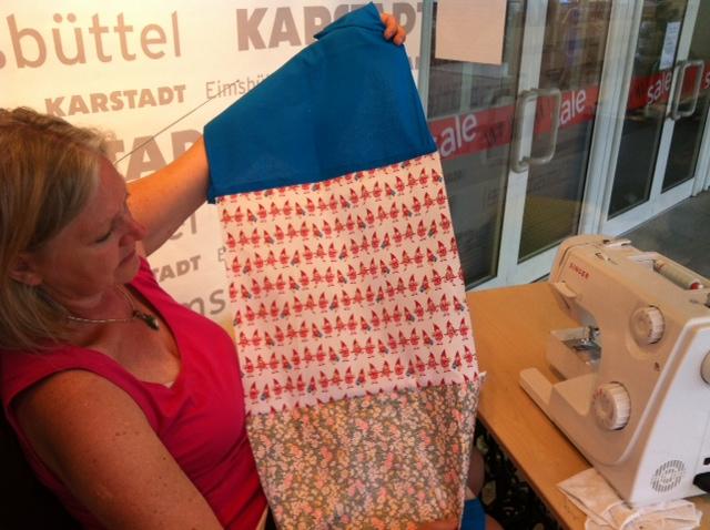 stoffe.de unterstützt die größte Patchwork-Arbeit Hamburgs