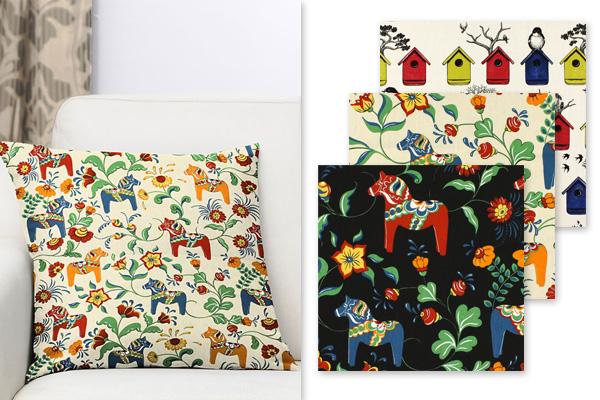 Desenho escandinavo da marca Arvidssons Textil