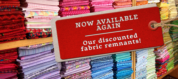 Discounted fabric cuts - always worth a look