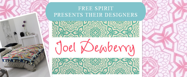 The 'Free Spirit' collection by Joel Dewberry has now arrived at myfabrics.co.uk