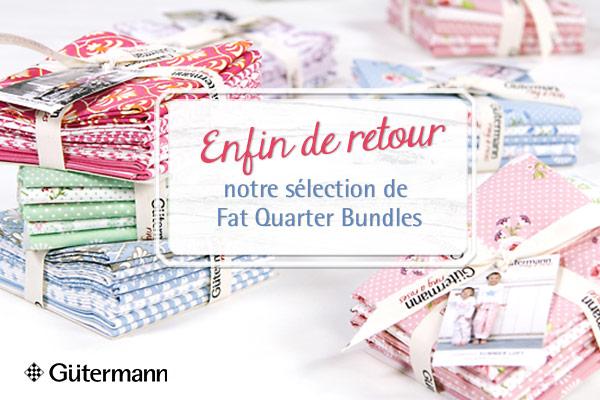 En parfaite harmonie Fat Quarter Bundles de Gütermann