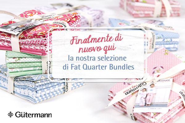 Armonizza alla perfezione! Fat Quarter Bundles di Gütermann