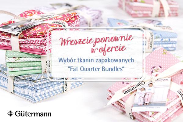 Perfekcyjna harmonia! Fat Quarter Bundles marki Gütermann