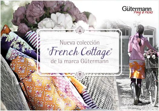Nueva colección French Cottage de la marca Gütermann