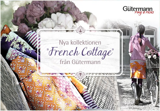 Nya kollektionen French Cottage från Gütermann