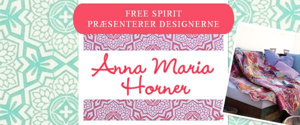 Free Spirit hos Stofkiosken.dk: Kollektion fra Anna Maria Horner fås nu