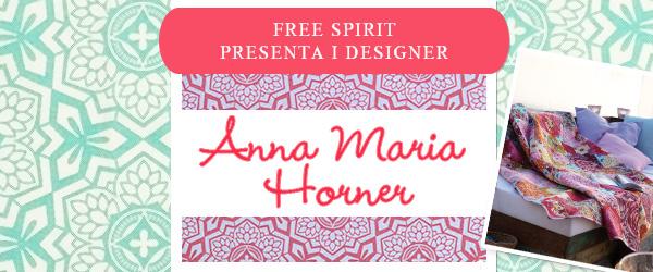 Free Spirit su tessuti.com: la collezione di Anna Maria Horner disponibile da oggi