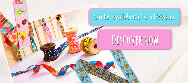 Cute children's ribbons – made for cosseting!