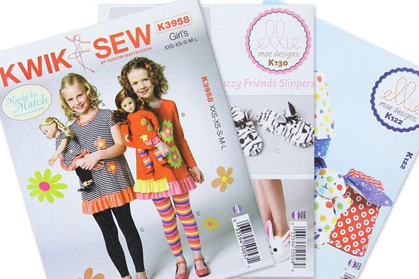Neue Schnittmuster von Kwik Sew bei stoffe.de | blog.stoffe.de