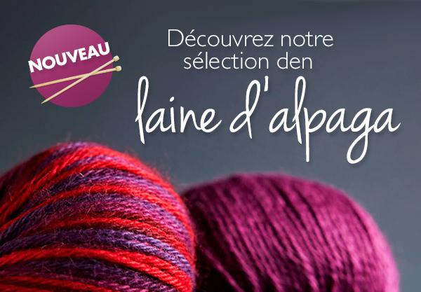 Nouvelle marque de laine : Laine péruvienne de Lamana