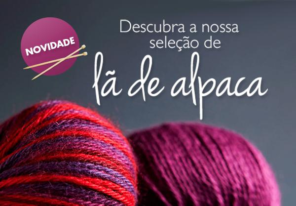 Nova marca de lã: lã peruana da Lamana