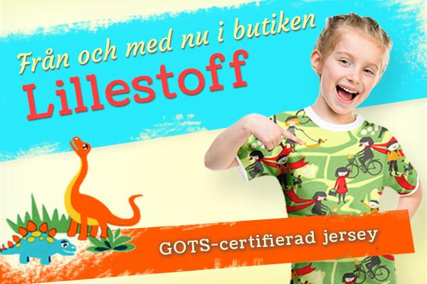 Hör upp! Nu finns tyger från Lillestoff i shoppen tyg.se!