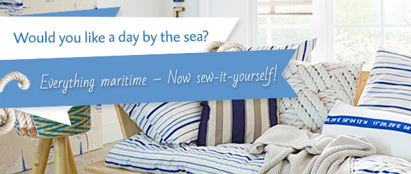Maritime fashion and furnishing ideas