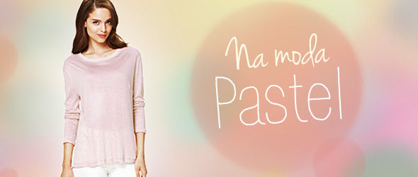 Tendências da moda 2014: Tons pastel