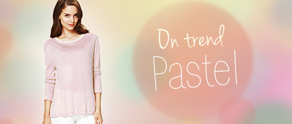 The fashion trend for 2014: Pastel shades