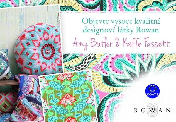 Amy Butler a Kaffe Fassett - nyní na latka.cz