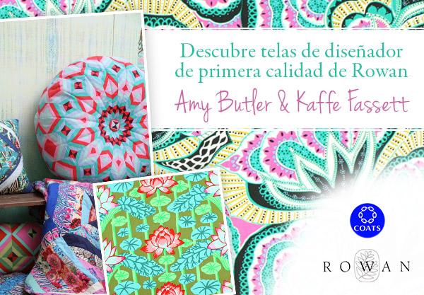 Amy Butler y Kaffe Fassett - ahora en telas.es