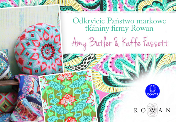 Amy Butler i Kaffe Fassett - teraz w tkaniny.net