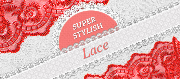 Summery lace – a terrific selection at myfabrics.co.uk.