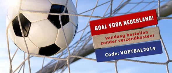 Goal voor Nederland! Alleen vandaag bestellen zonder verzendkosten!