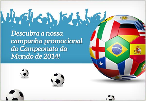 A nossa campanha para si que é fã do Campeonato do Mundo! Despois de um jogo vitorioso, compre sem quaisquer despesas de envio!