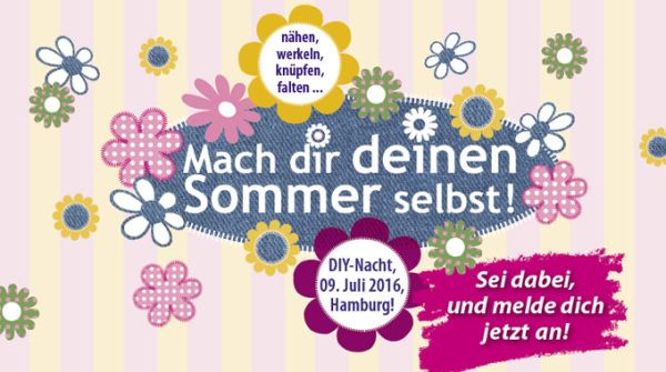 Event Tipp für Hamburg: DIY-Nacht 2016