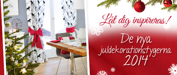 Det är snart jul - nu är det dags att börja tänka på juldekorationer