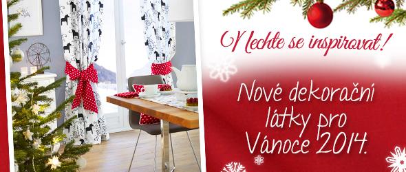 Vánoce se po špičkách blíží… myslete na dekorace již dnes