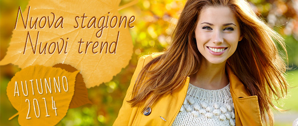 Nuovi trend in autunno