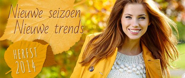 Nieuwe trends in de herfst