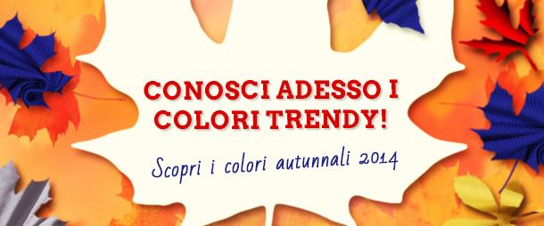 Senape, blu, rosso, argento e nero. Questi sono i colori dell'autunno 2014!