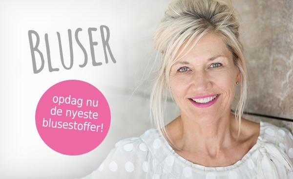 Opdag blusestoffer i mange smukke mønstre hos stofkiosken.dk